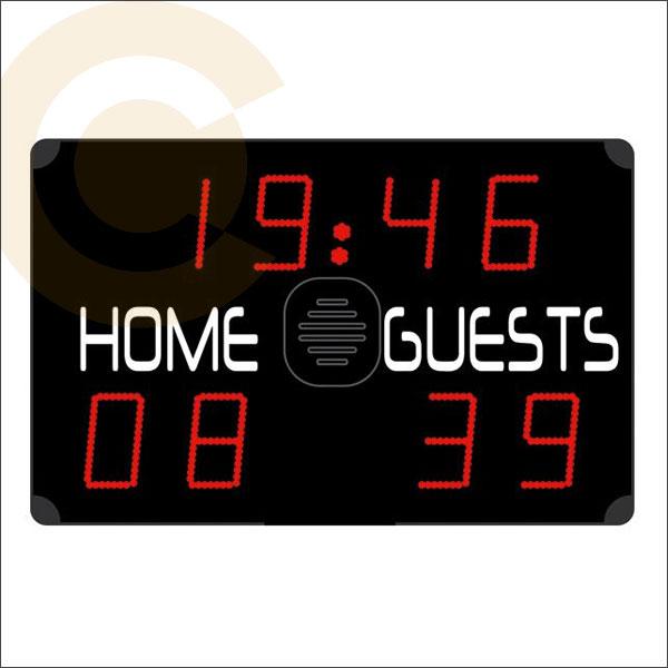 Electronic Wall Mounted Basketball Game Scoreboard Display