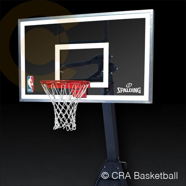 4239ab959fa Spalding Portable Freestanding Basketball Net Systems   Goals