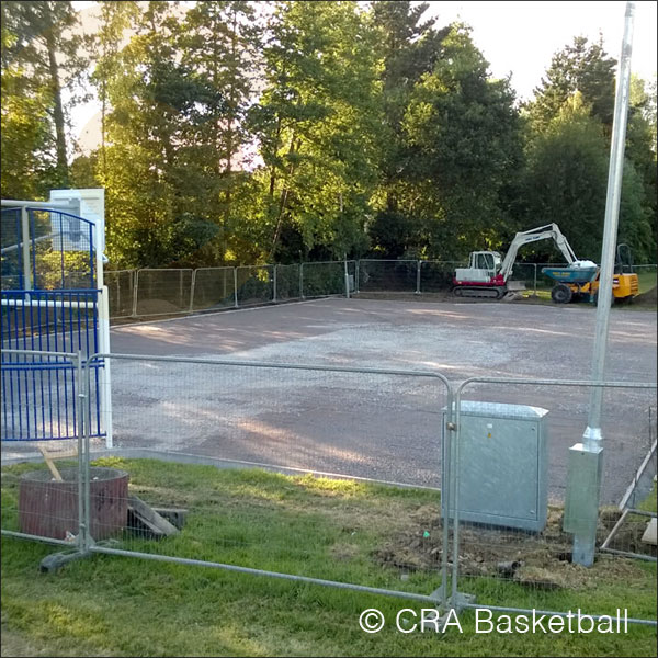 OUTDOOR MUGA BASKETBALL AREAS