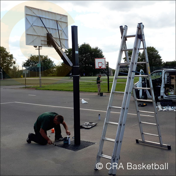 BASKETBALL COURT & AREA EQUIPMENT INSTALLATION SERVICES