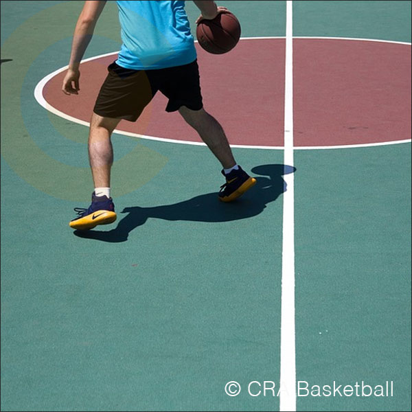 Outdoor basketball court design and installation