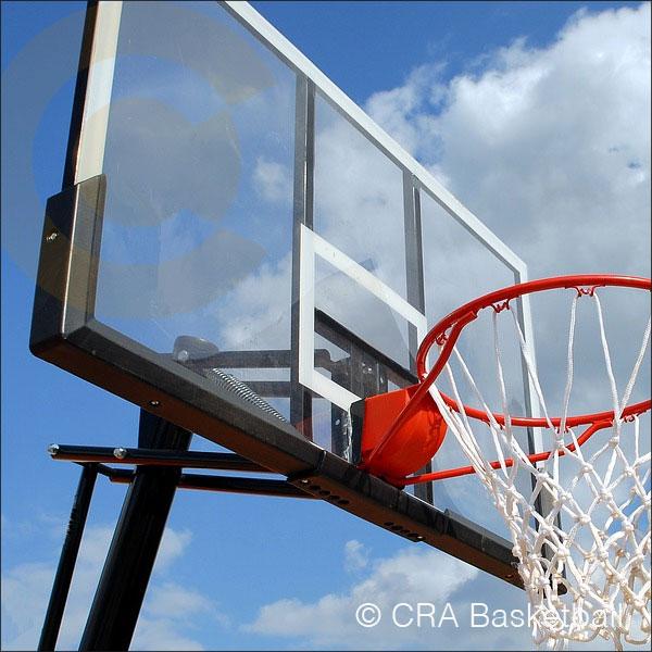 Outdoor garden basketball goals