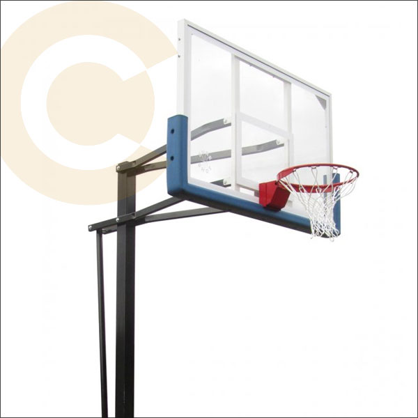 Sure Shot California In Ground Basketball Post