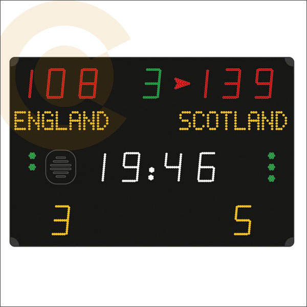 SPORTS HALL ELECTRONIC GAME DISPLAY