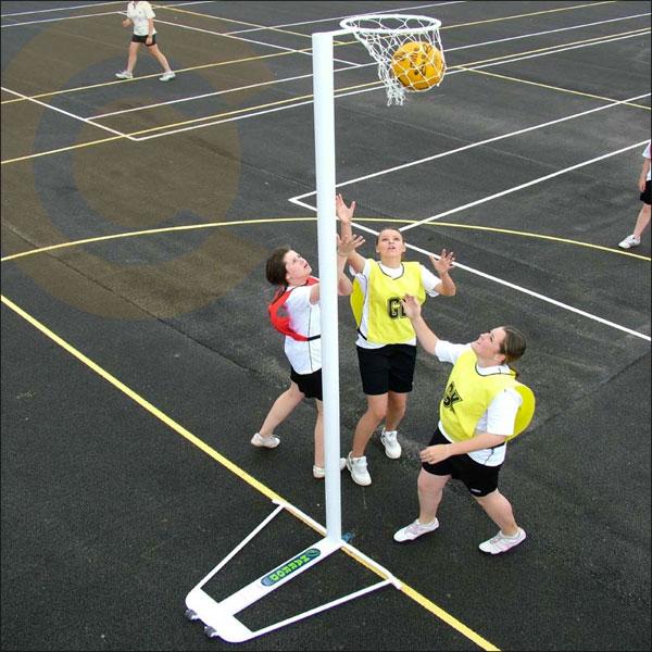 ALLOY SCHOOLS NETBALL GOALS