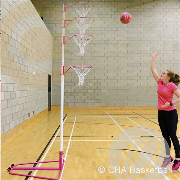 Telescopic Indoor Netball Goal